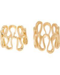 Trina Turk - Wavy Ring Set - Size 7 & 8 - Lyst