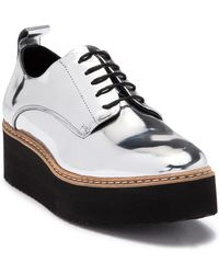 Shellys London - Teivis Leather Platform Derby - Lyst
