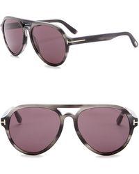 Tom Ford - Rory Aviator Sunglasses 57mm - Lyst