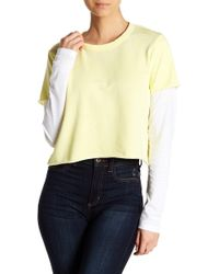 Alternative Apparel - 2-fer Long Sleeve Pullover - Lyst