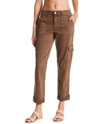 Level 99 - Stacey Relaxed Cargo Pants - Lyst