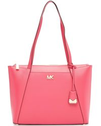 MICHAEL Michael Kors - Maddie Leather Tote Bag - Lyst
