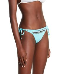 Sperry Top-Sider - Embroidered Bikini Bottom - Lyst