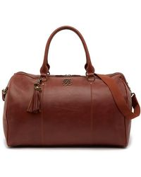"Tommy Bahama - 20"" Ibiza Leather Duffel - Lyst"