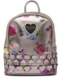 Betsey Johnson - Heart Applique Mini Backpack - Lyst