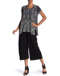 4ccc056644d6d Lyst - Johnny Was Teemy Printed Georgette Pants