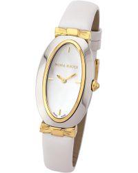 Nina Ricci - Women's White Leather Watch - Lyst