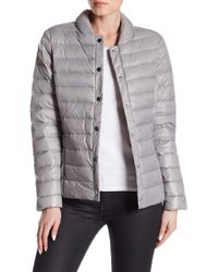 Via Spiga | Solid Quilted Puffer Jacket | Lyst