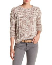 Love By Design - Hi-lo Crew Neck Jumper - Lyst