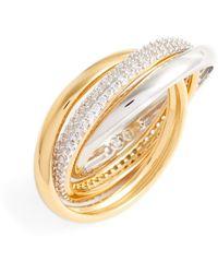 Nadri - Trinity Pave Ring - Size 7 - Lyst