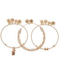 ALEX AND ANI - Horseshoe Expandable Wire Bracelet Set - Lyst