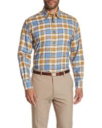 Robert Talbott - Anderson Ii Plaid Long Sleeve Classic Fit Shirt - Lyst
