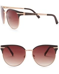 Vince Camuto - Women's 51mm Retro Oval Sunglasses - Lyst