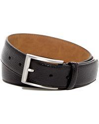 Nordstrom - Pebble Grain Leather Belt - Lyst