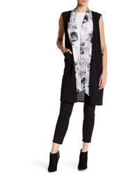 Roffe Accessories - Layered Vest - Lyst