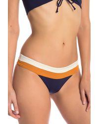 L*Space - Veronice Colorblock Bikini Bottoms - Lyst