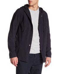 Vince - Hooded Shirt Jacket - Lyst