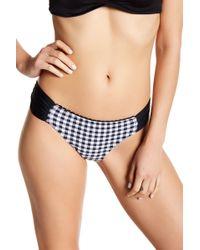 Betsey Johnson - Gingham Hipster Bikini Bottom - Lyst