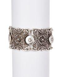 TMRW STUDIO - Engraved Bracelet - Lyst