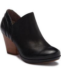Dansko - Marcia Croc-embossed Leather Bootie - Lyst