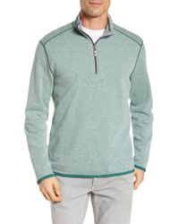 Tommy Bahama - Huddle Up Half Zip Pullover - Lyst