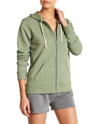 Alternative Apparel - Terry Zip Hoodie - Lyst