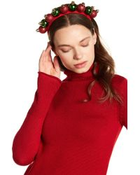 Berry - Light Up Elf Hat & Ornament Headband - Pack Of 2 - Lyst