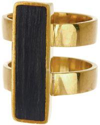 Soko - Horn Bar Ring - Size 6 - Lyst