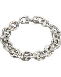 Uno De 50 - Without Petals Link Chain Bracelet - Lyst