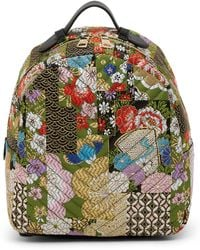 Steve Madden - Lyla Patchwork Brocade Backpack - Lyst