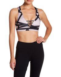 DSGN Yoga - Colorback Crisscross Sports Bra - Lyst