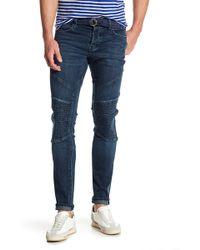 J Brand - Bearden Moto Slim Fit Jeans - Lyst