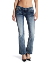 Rock Revival Whiskered Boot Cut Jeans