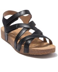 Josef Seibel Tonga Strappy Sandal - Black