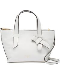 T Tahari - Knot Today Small Leather Satchel - Lyst