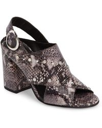 TOPSHOP - Nixie Block Heel Sandal (women) - Lyst
