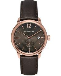 Burberry - Men's Classic Swiss Quartz Watch, 40mm - Lyst