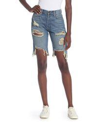 Siwy Luna High Rise Bermuda Shorts