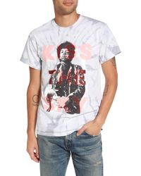 The Rail - Tie Dyed Kiss The Sky T-shirt - Lyst