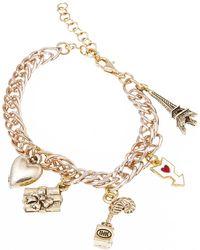 La Mer Collections - Paris Charm Bracelet - Lyst