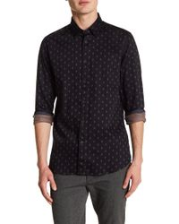 Ted Baker - Monico Dot Print Trim Fit Shirt - Lyst