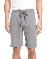 Tailor Vintage - Reversible French Terry Sweat Shorts - Lyst
