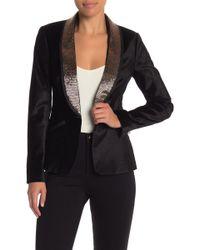 Ted Baker - Embellished Velvet Suit Jacket - Lyst
