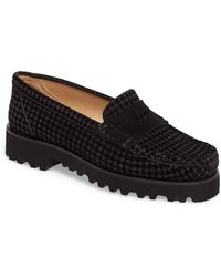 Ron White - Rita Houndstooth Water Resistant Penny Loafer - Lyst