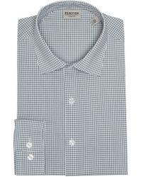 Kenneth Cole Reaction - Slim Fit Checkered Dress Shirt - Lyst