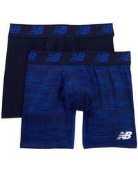 """New Balance - Performance Everyday 6"""" Boxer Briefs - Pack Of 2 - Lyst"""