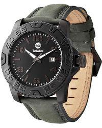 Timberland - Men's Ogunquit Leather Strap Watch, 45mm - Lyst