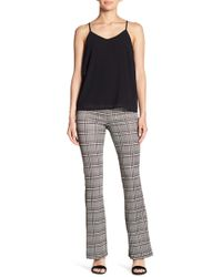 Lush - Plaid Flare Leggings - Lyst