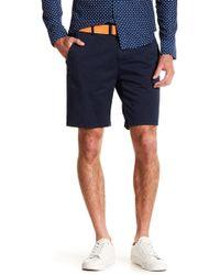 Scotch & Soda - Twill Stretchy Shorts - Lyst