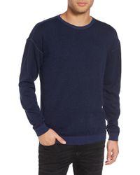 John Varvatos - Drop Shoulder Sweater - Lyst